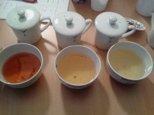 tazzine da degustazione ISO usate dai Tea Sommelier