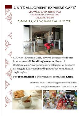 Un tè all'Orient Express Cafe'