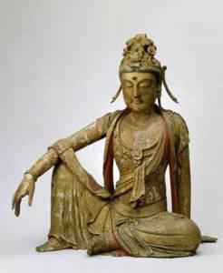 Statua di Guan yin o Kuan-yin