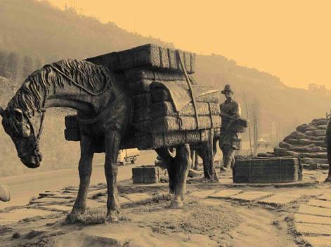 la strada del tè e dei cavalli