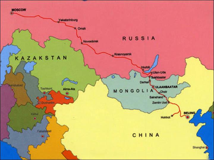 Rotta Siberiana del tè: Mosca Kyakhta Beijing