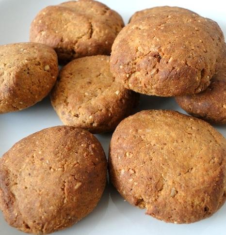 Biscotti vegetariani soy-flour-cookies