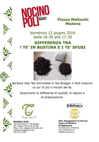 31- Nocinopoli 12 giu 2016 - Tè in bustina