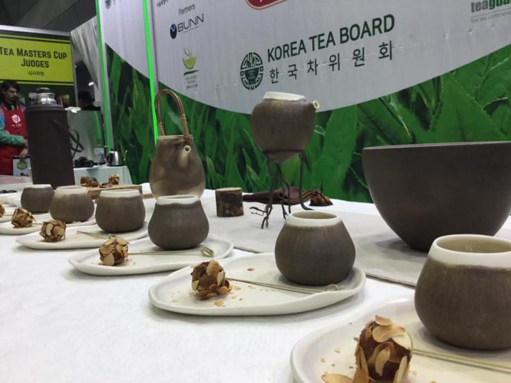 Tea preparing