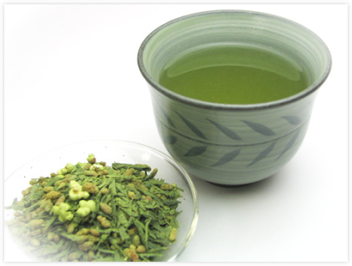 Matcha with Genmaicha 2