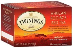 """il nome da usare era: """"Rooibos tea"""" senza usare la paola """"red"""""""