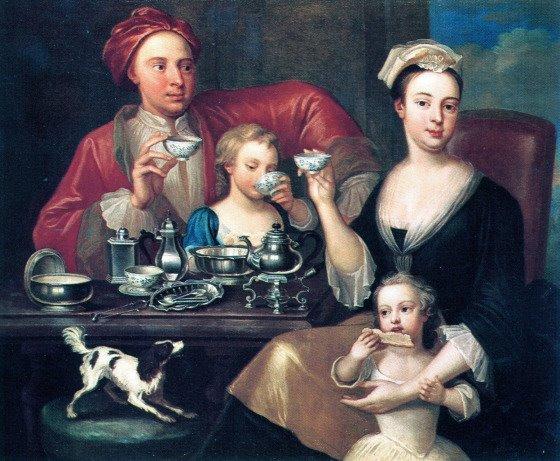 an-english-family-at-tea-by-joseph-van-aken-1725