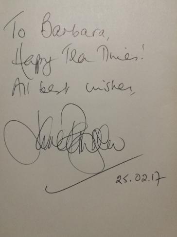 Autografo di Jane