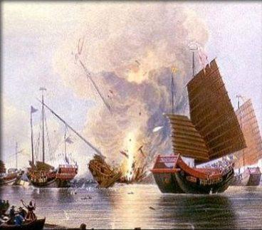 1840-1856 Guerra dell'oppio