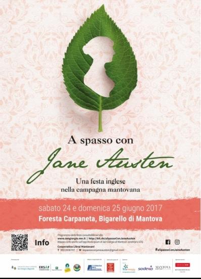 A Spasso con Jane Austen 24-25 giugno 2017 volantino