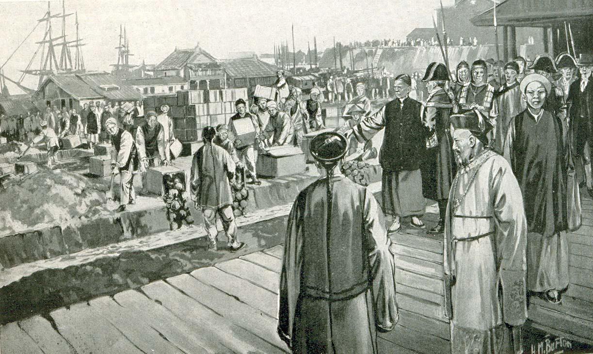 British East India Company - trading Opium for tea