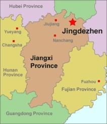 jingdezhen-location-map
