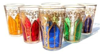 Moroccan tea glass