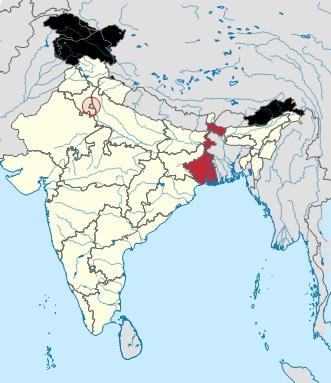 Darjeeling mappa