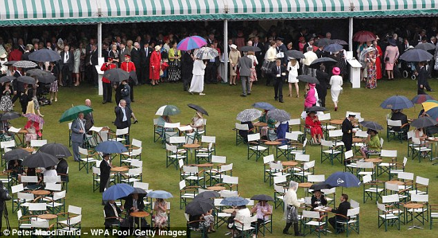Garden Party At Buckingham Buckingham Palace- TIME FOR TEA