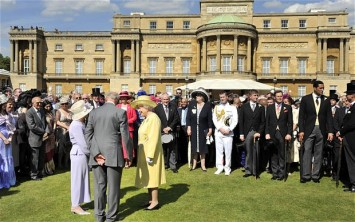 Garden Party At Buckingham Buckingham Palace