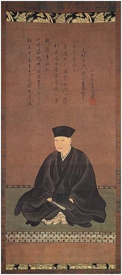 Matcha Figura 4 -Hasegawa Tōhaku, Sen no Rikyū, forse