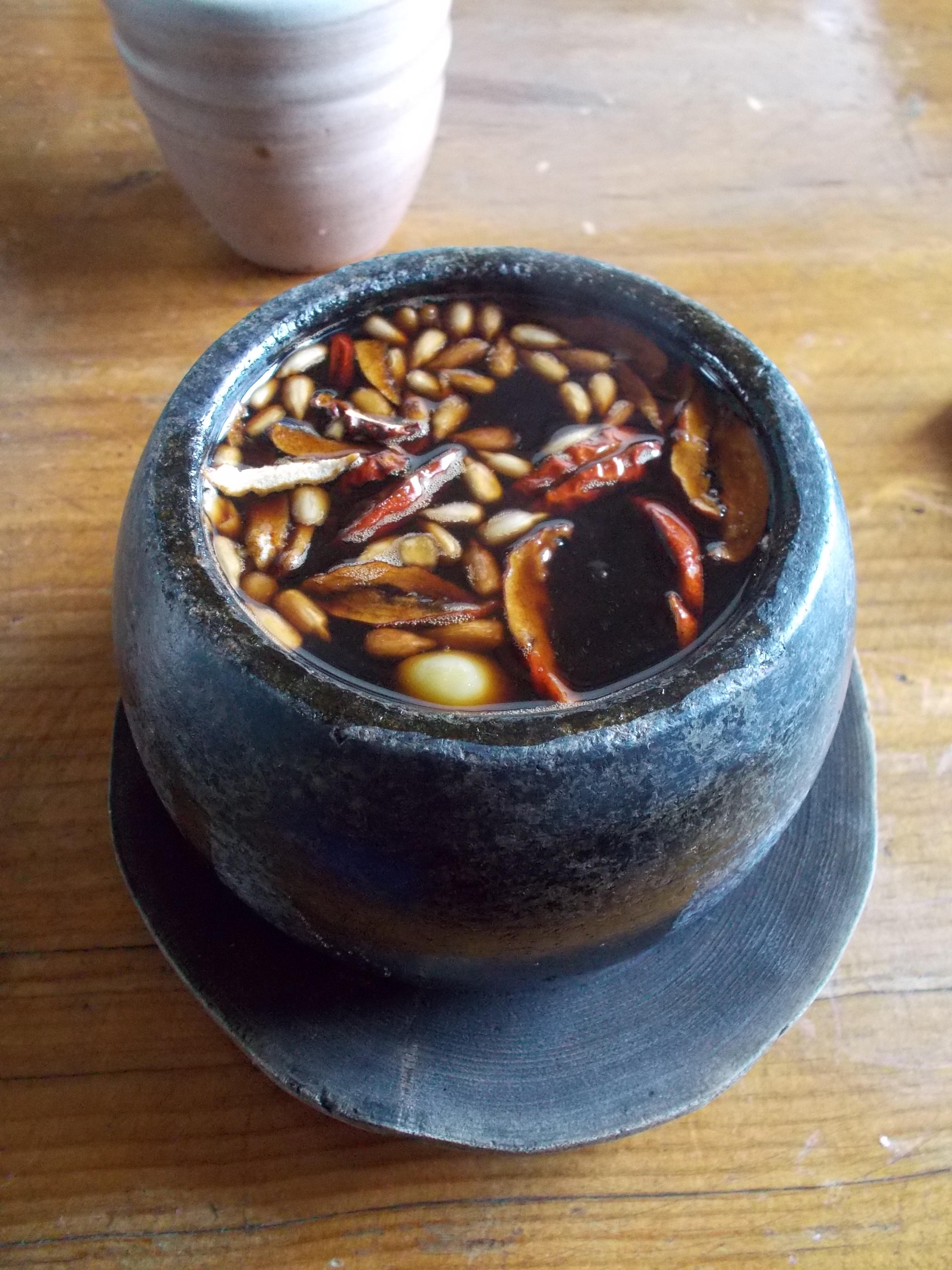 tè coreano tradizionale