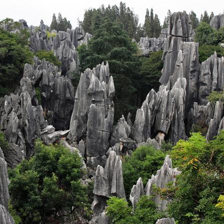 Yunnan, contea Yi di Shilin, Foresta di Pietra