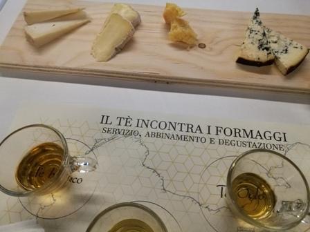 Il tè incontra il formaggio