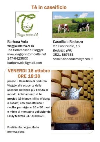 Volantino Degustazione tè e formaggio 16ott2015 - Copia