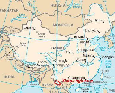 Yunnan, Xishuangbanna