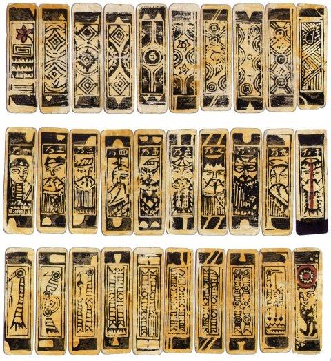 carte da gioco cinesi