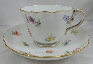 germania meissen tazza porcellana