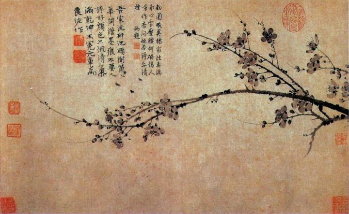 pittura cinese wang-mian 1287