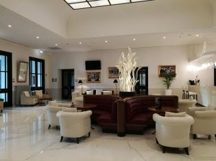 Salotto dell'albergo