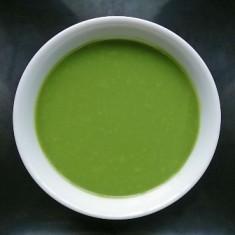 salsa al tè matcha con panna
