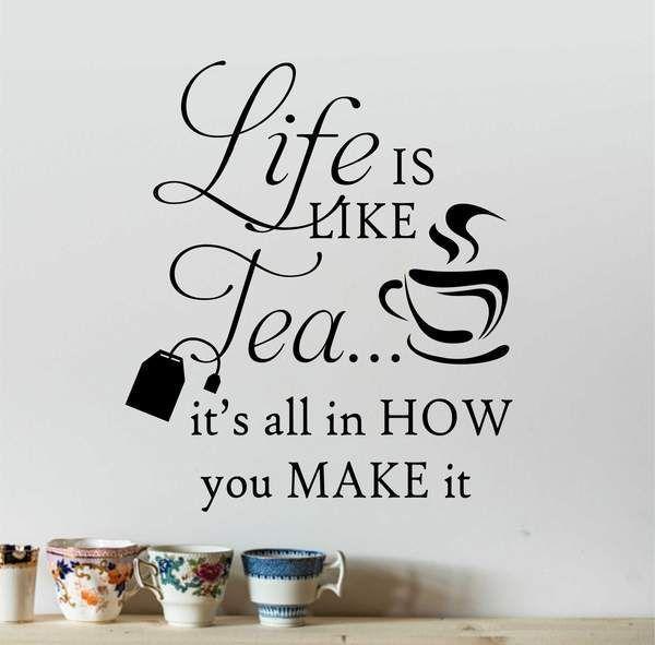 tè preparazione e vita