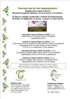 Manifesto- Il tè a Viareggio 4 mar 2020