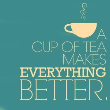 con il tè va tutto meglio