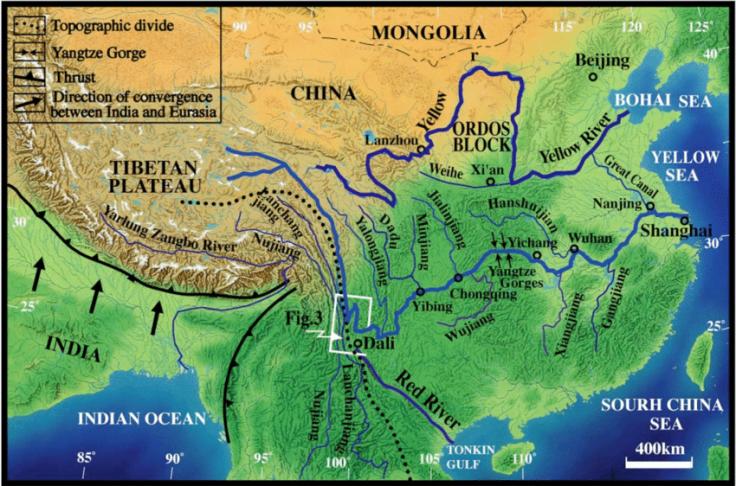 Fiume giallo -Yangtze-River