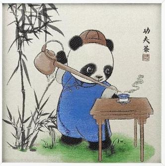 Kung Fu Panda Tea