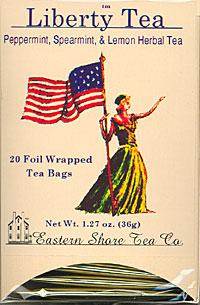 Liberty Tea - Eastern Shore Boxed Tea Bags - Baltimore Coffee and Tea